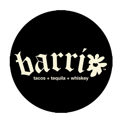 Barrio tacos and tequila and whiskey